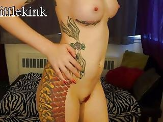 Boots, Goth, Redhead, Strip Tease, Tattoo, Teasing