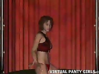 3d Virtual Stripper Gets Naked And Dances On Stage