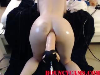 Anal Fuck Machine Huge Dildo - Bouncycams.com