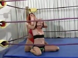 April Hunter - Female Wrestling Beatdown