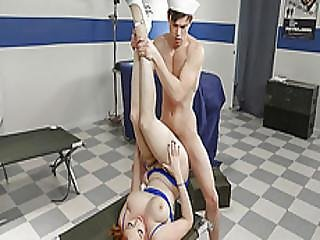 Lauren Phillips Got Her Pussy Drilled Like A Jack Hammer