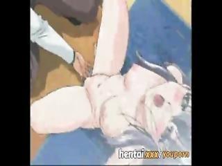 anale, anime, cartoni, dottore, clistere, con le dita, hentai, ospedale, masturbazione, sputo, Adolescente, Adolescente Anale, giovane