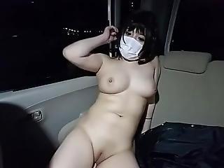 azjatka, duże cycki, kapelusz, japonka, masturbacja, park, publicznie, solo, kobiecy wytrysk, kamerka