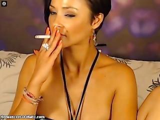 Mia Smoking
