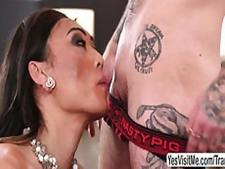 Big Tits Shemale Venux Lux Fucks Horny Transman Viktor Belmont Pussy In Doggystyle