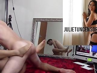 Real Amateur Young Couple Making Love