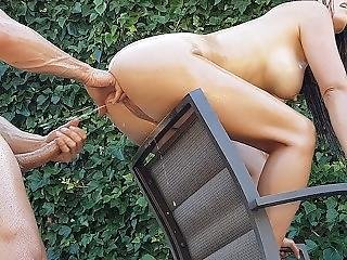 It Feels Great When She Squirts On My Cock And I Milk Her Tits