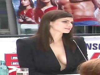 Alexandra Anna Daddario Massive Cleavage