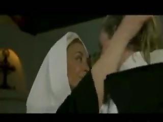 Love In Between Nuns Lingerie