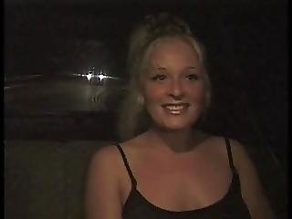 Blonde Slut Goes Home With Dude And Gets Fucked By Black Cock On A Couch