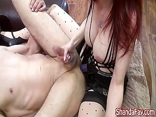 Hot Milf Shanda Fay Teases Him With Strapon For Pegging
