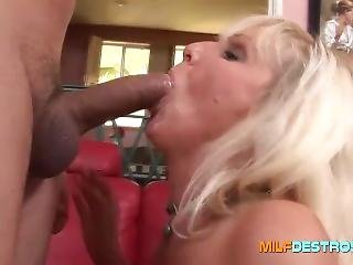 Mature Milf With Busty Boobs