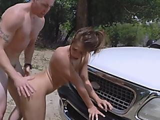 Hot Sex With A Sneaky Stripper