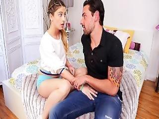 Cum4k Step Dad Sex Education Fuck With Creampie