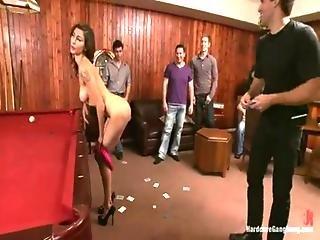 Princess Donna Dolore Hardcore Gangbang