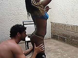 Xafricans Interracial Couple Sneaky Fucking Session Real Sex
