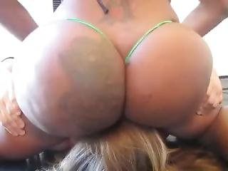Black Goddess Ass Smothering