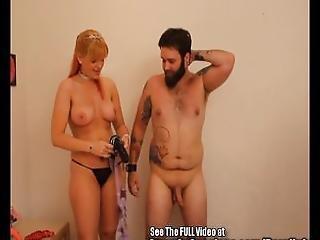 Bearded Bitch Boy Anal Pegging Milk Tit Squirt