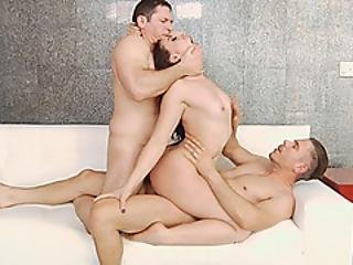 Mandy Muse Double Fucked By Huge Cocks