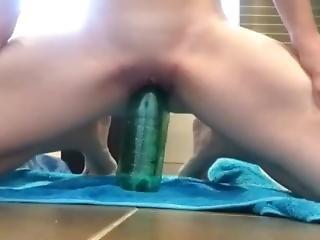 Bottle Fuck While My Boyfriends Away