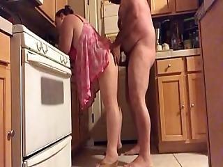 Wife In Kitchen