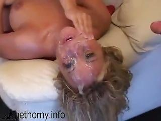 Blonde Whore Jasmine Tame Gets Brutally Fucked And Deepthroated