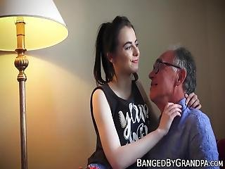 Barely Legal Slut Seduces Mature Teacher Into Hardcore Sex! This Teeny Never Cared Much For Books, But She Does Care About Dicks!