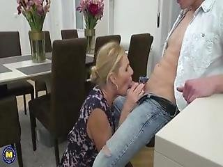 British Housewife Molly Fucks A Young Man