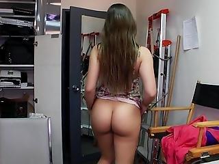 Super Cute Dani Daniels Opens Her Legs