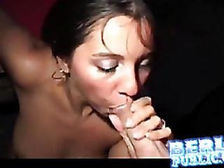 Licked And Fingered In Public Sex Club
