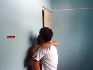 Pressing Indian Teen Boobs Hard