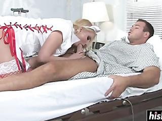 Blonde Nurse Cures Her Patient With Sex
