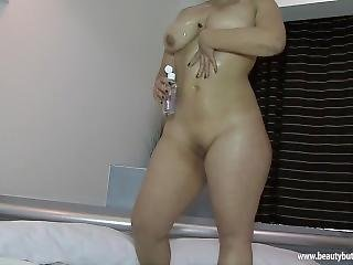 Dulce Candy Mexican Curvy And Thick Dildo Time