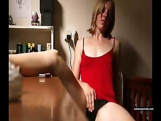 My Sister Masturbates At Dining Table
