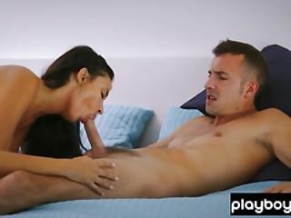 Busty French Beauty Babe Sensual Fucking With Boyfriend