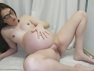 amatoriale, britannica, mora, fetish, masturbazione, milf, orgasmo, incinta, da sola, schizzo