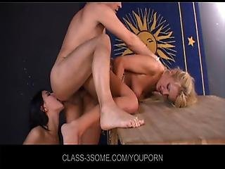 Threesome Anal Audition