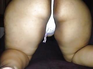 Thick Hot Latina In Ponytails Shows Off Ass Then Creep Relax