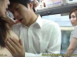 Sexy Girl Seduced Young Man On The Bus 2