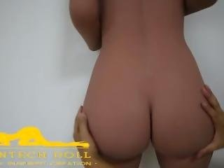 Big Ass Silicone Sex Doll Love Doll Realistic Features Show