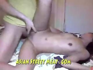 Asian Girl Face To Face Fuck On Roof