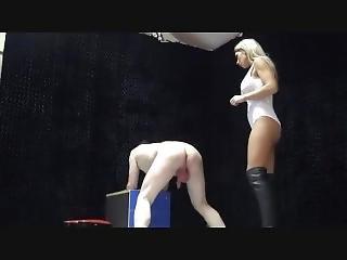 Uk Mistress Elise Ballbusting