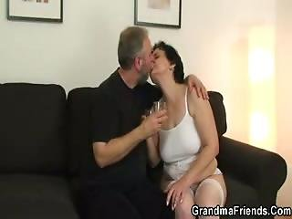 Model Man And Old Guy Fuck Mature