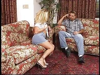 Blonde Bitch Ass Fucked Whiles She Figer Fucks Her Cunt