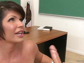 Shay Fox Busty Teacher Milf