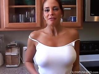 Hot And Horny Old Spunker Imagines You Fucking Her Juicy Pussy