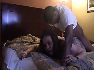 Connie Swings Hard Motel Fuck With Facial Cum