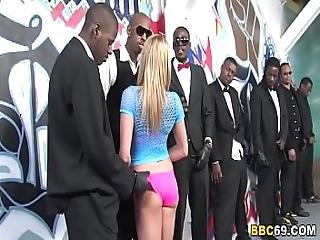 Aiden Aspen Group Sex With Big Black Dicks