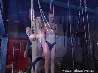 Breast Bondage And Tit Torture Of Redhead Amateur Slave Fiona In Hardcore Boob Whipping And Nipple Clamped Punishment Of Bdsm Submissive In Severe Punishment