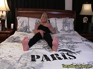 Paris Is Masturbating And Giving Jerk Off Instruction In Her Crotchless Body Stocking She Finger Fucks Her Pussy And Has Several Orgasms With Extreme Closeups